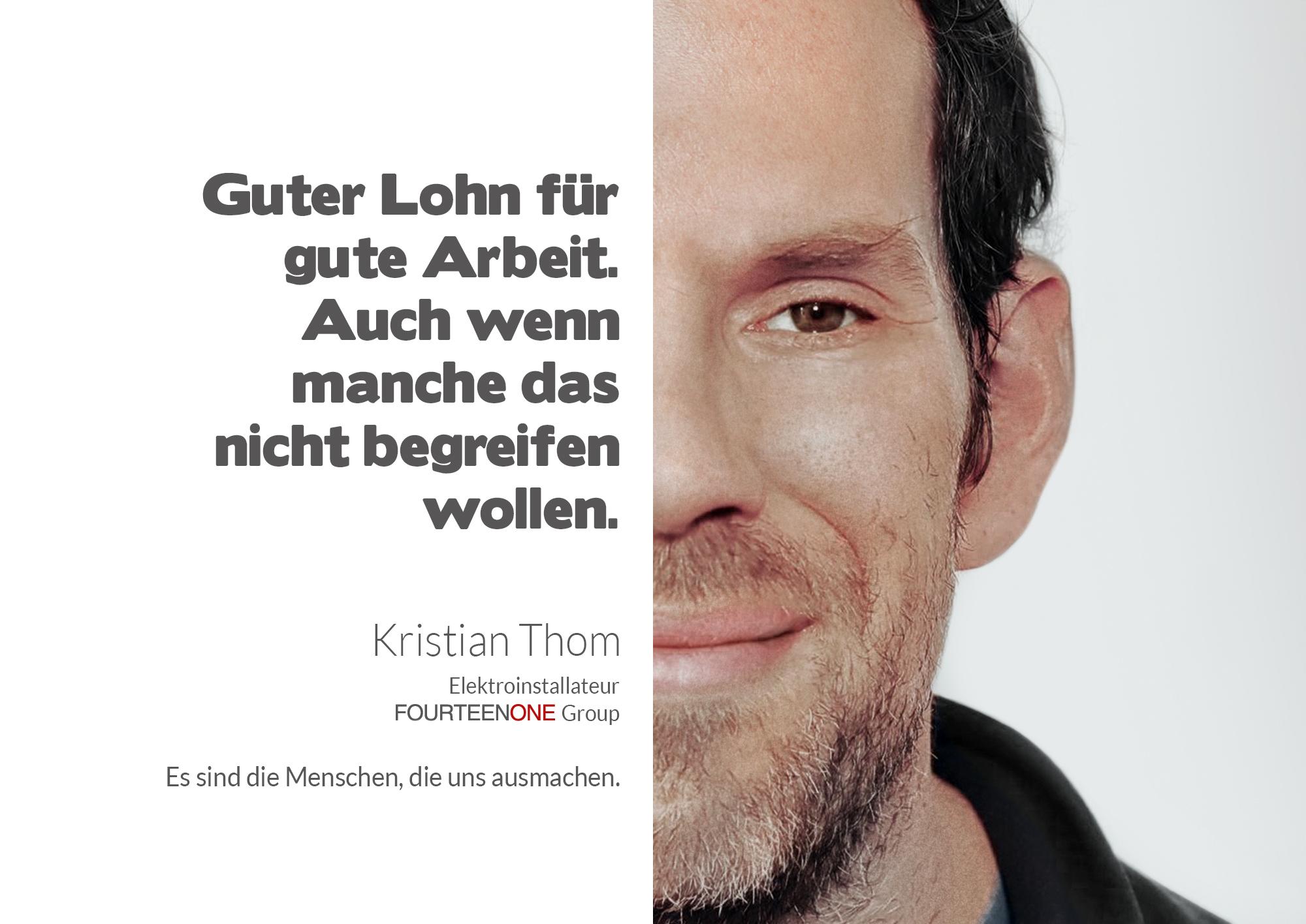 Kristian Thom - Gesichter der Fourteenone