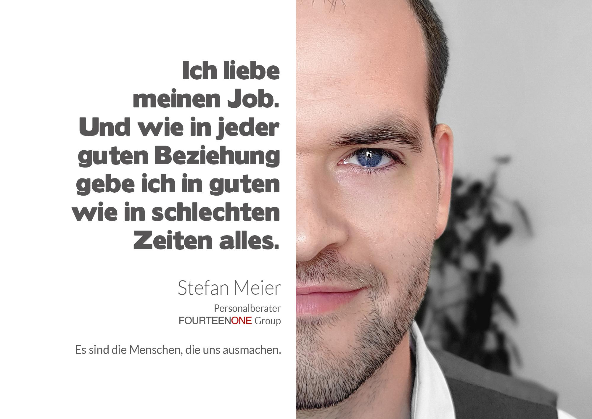 Stefan Meier - Gesichter der Fourteenone